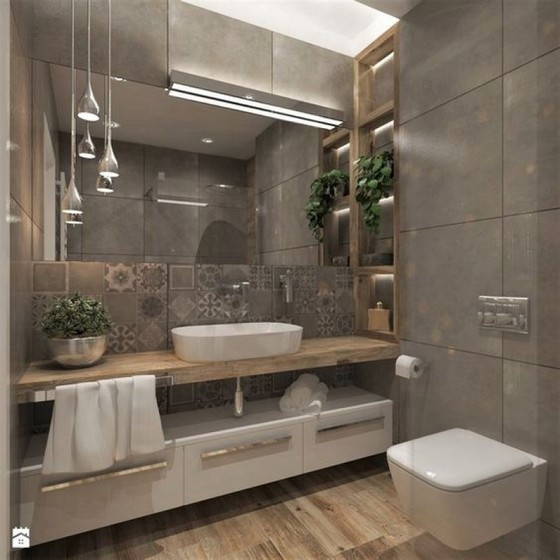 Banheiro Planejado com Cuba São Paulo - Banheiro Planejado Madeira