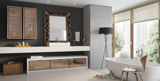 Banheiro Planejado Grande Preço São José dos Campos - Banheiro Planejado com Cuba