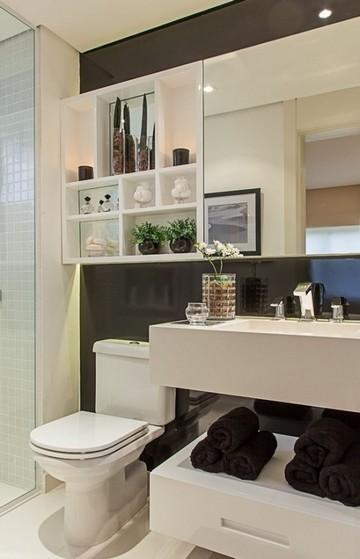 Banheiro Planejado Moderno Pequeno Preço Poá - Banheiro Planejado para Espaço Pequeno
