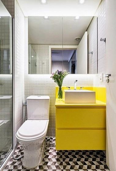 Banheiro Planejado para Apartamento Pequeno Preço Arujá - Banheiro Planejado Madeira