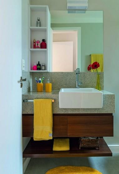 Banheiro Planejado para Espaço Pequeno São José dos Campos - Banheiro Planejado para Espaço Pequeno