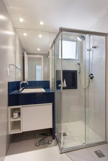 Banheiro Planejado Simples Preço Mogi das Cruzes - Banheiro Planejado Apartamento