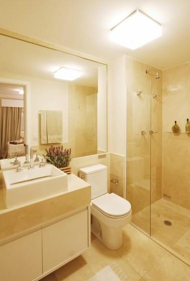 Banheiros Planejados de Apartamento Poá - Banheiro Planejado Madeira