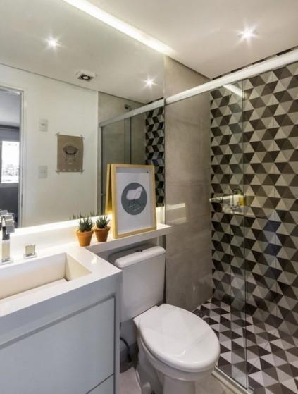 Banheiros Planejados Grande Zona Leste - Banheiro Planejado com Espelho