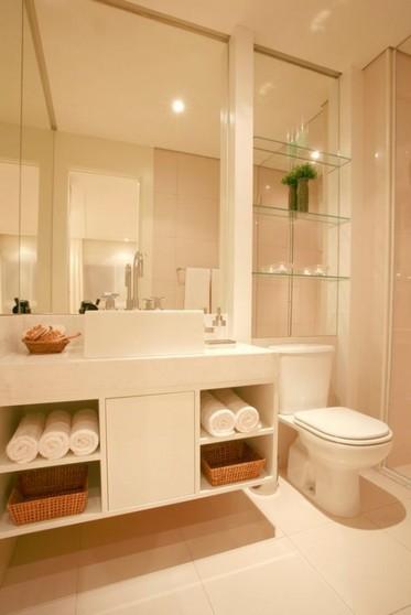 Banheiros Planejados para Espaço Pequeno Bertioga - Banheiro Planejado Grande