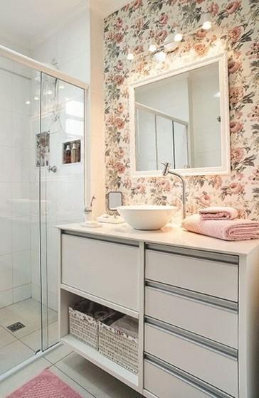 Banheiros Planejados Pequeno Guarulhos - Banheiro Planejado Madeira