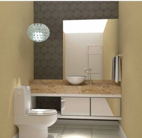 Banheiros Planejados Simples Bertioga - Banheiro Planejado com Cuba