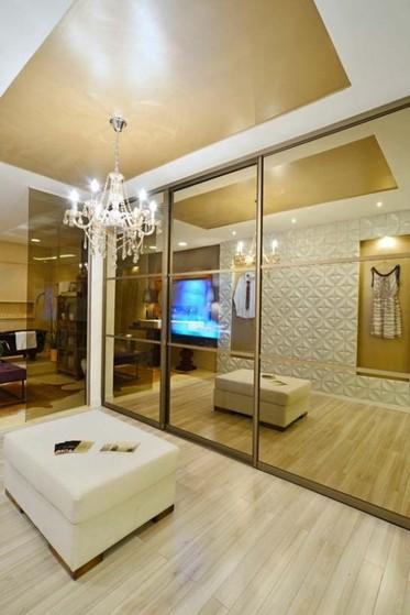Closet Planejado com Espelho Preço Guarulhos - Closet Planejado com Espelho