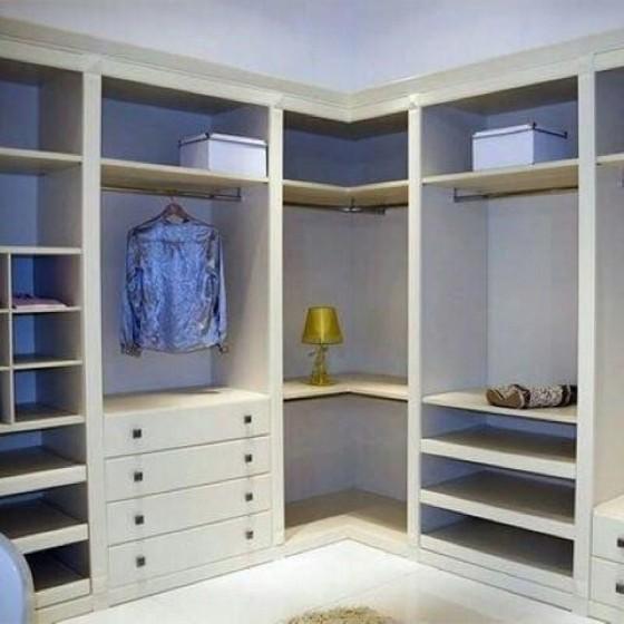 Closet Planejado para Apartamento Alphaville - Closet Planejado de Canto