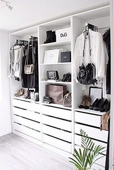 Closet Planejado Pequeno Simples Preço Alphaville - Closet Planejado de Casal