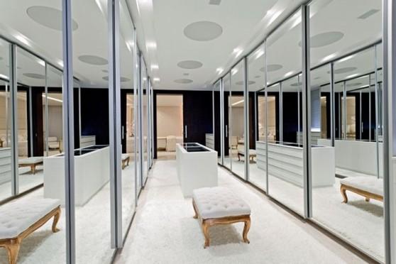 Closets Planejados com Espelho Bertioga - Closet Planejado Aberto