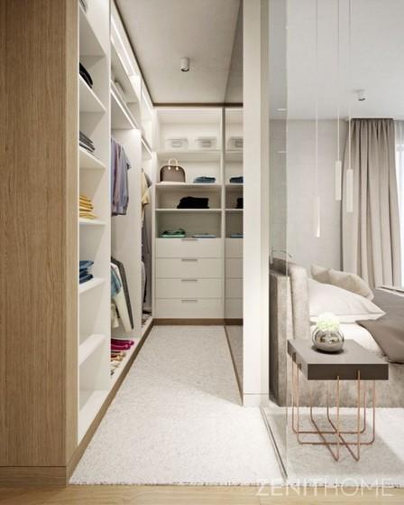 Closets Planejados de Canto Suzano - Closet Planejado Pequeno Simples