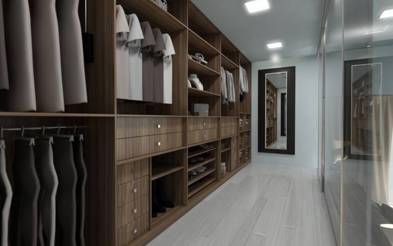 Closets Planejados Grande Bertioga - Closet Planejado com Espelho