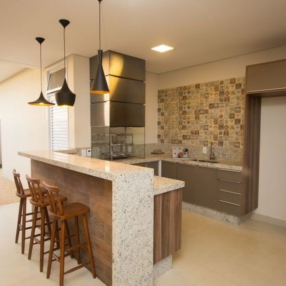 Cozinha Planejada Americana Riviera de São Lourenço - Cozinha Planejada Moderna
