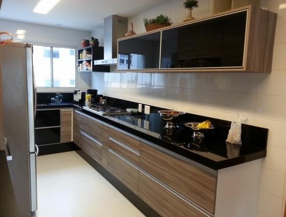 Cozinha Planejada Apto Preço Alphaville - Cozinha Planejada de Madeira