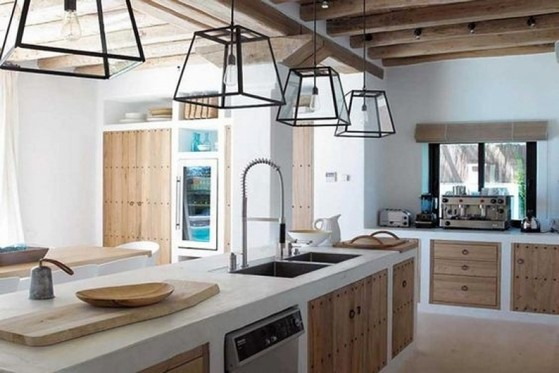 Cozinha Planejada de Alvenaria Mogi das Cruzes - Cozinha Planejada com Ilha
