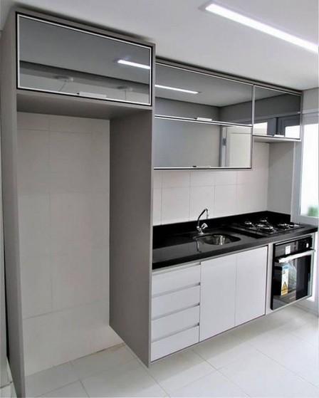 Cozinha Planejada de Blindex São José dos Campos - Cozinha Planejada com Ilha
