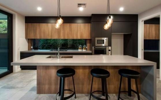 Cozinha Planejada Moderna Preço Bertioga - Cozinha Planejada de Madeira