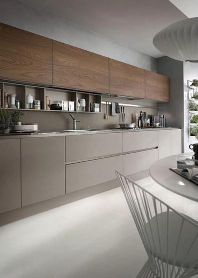 Cozinha Planejada Moderna Bertioga - Cozinha Planejada Apartamento