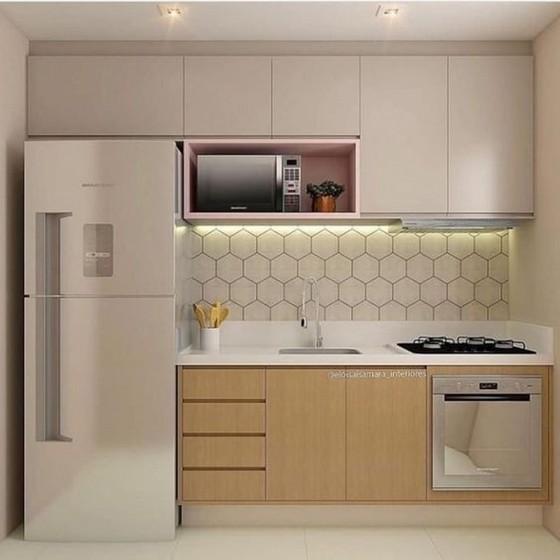 Cozinha Planejada Pequena Poá - Cozinha Planejada com Ilha