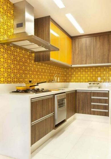 Cozinhas Planejadas Apartamento Poá - Cozinha Planejada com Ilha