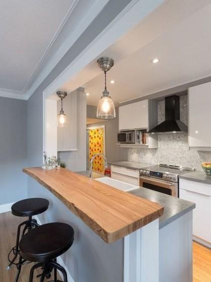 Cozinhas Planejadas de Alvenaria Riviera de São Lourenço - Cozinha Planejada Apto