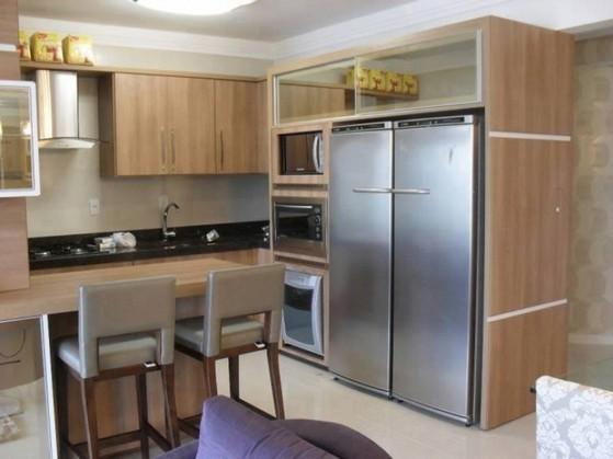 Cozinhas Planejadas Pequena Poá - Cozinha Planejada de Apartamento
