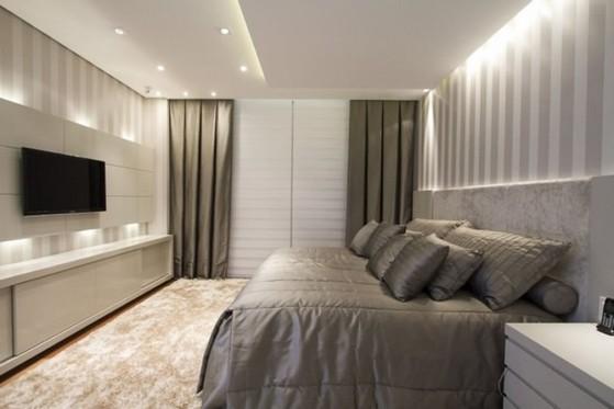 Dormitório Planejado Casal Alphaville - Dormitório Casal Planejado Pequeno