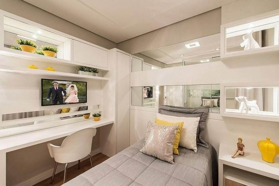 Dormitório Planejado Solteiro Preço Zona Leste - Dormitório Planejado de Casal