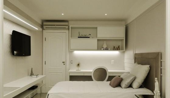Dormitório Planejados Móveis Preço Bertioga - Dormitório Planejado de Solteiro