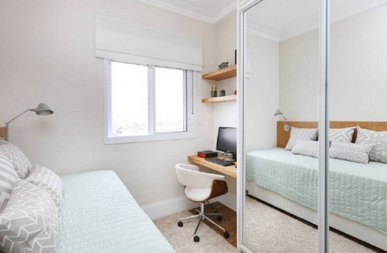 Dormitórios Planejados de Solteiro Alphaville - Dormitório Planejado Solteiro
