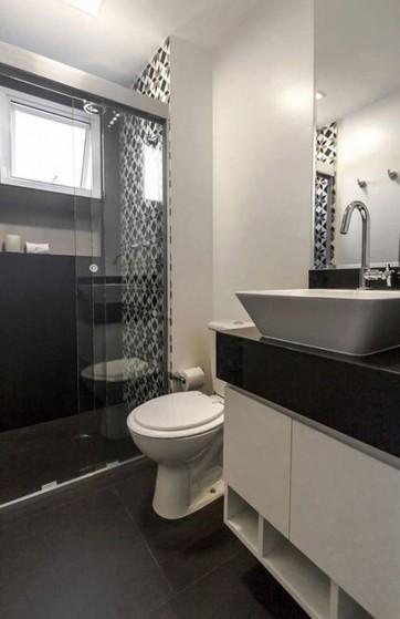 Onde Encontro Banheiro Planejado Apartamento Bertioga - Banheiro Planejado Moderno Pequeno