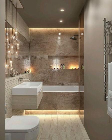Onde Encontro Banheiro Planejado com Cuba Guarulhos - Banheiro Planejado para Apartamento Pequeno