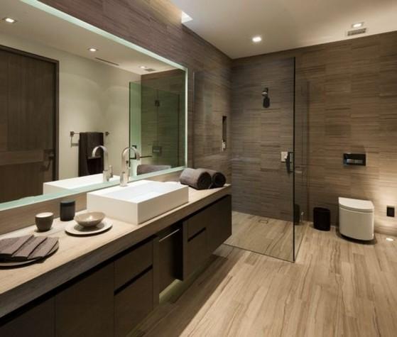 Onde Encontro Banheiro Planejado com Espelho Suzano - Banheiro Planejado para Espaço Pequeno