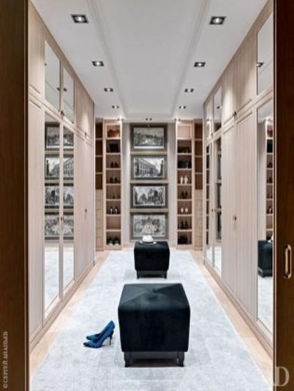 Onde Encontro Closet Planejado com Espelho Poá - Closet Planejado Aberto