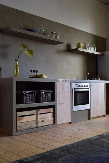 Onde Encontro Cozinha Planejada de Alvenaria Bertioga - Cozinha Planejada Amadeirada