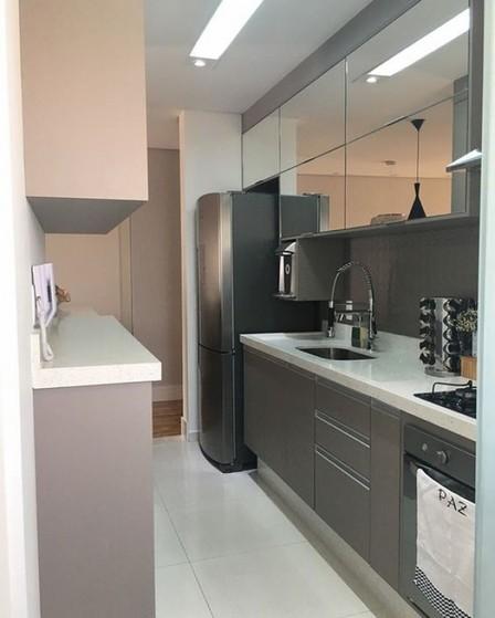 Onde Encontro Cozinha Planejada de Blindex Suzano - Cozinha Planejada Moderna