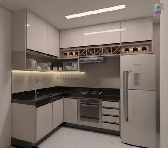 Onde Encontro Cozinha Planejada de Canto São José dos Campos - Cozinha Planejada Apartamento