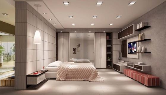 Onde Encontro Dormitório Planejado de Casal Riviera de São Lourenço - Dormitório Planejado Solteiro Masculino