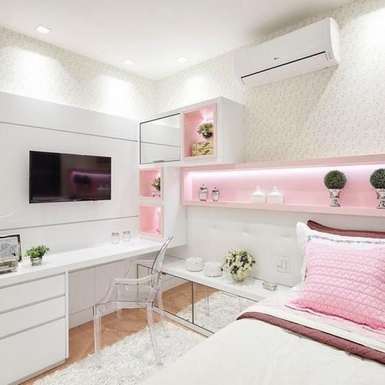 Onde Encontro Dormitório Planejado Solteiro Feminino Riviera de São Lourenço - Dormitório Planejado Solteiro