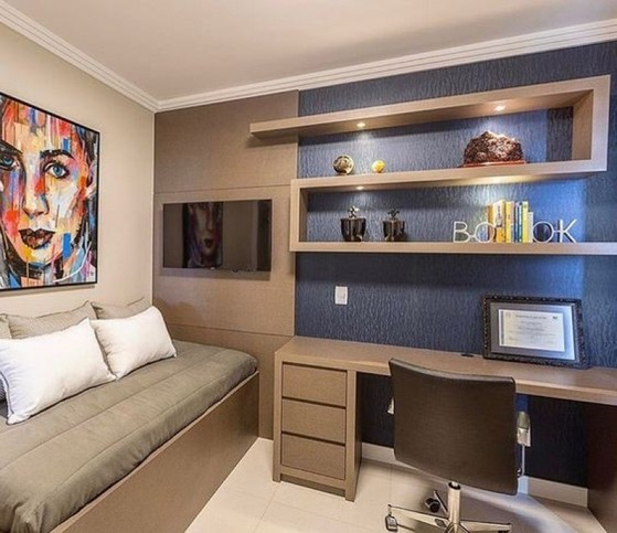 Onde Encontro Dormitório Planejado Solteiro Masculino São José dos Campos - Dormitório Casal Planejado Pequeno