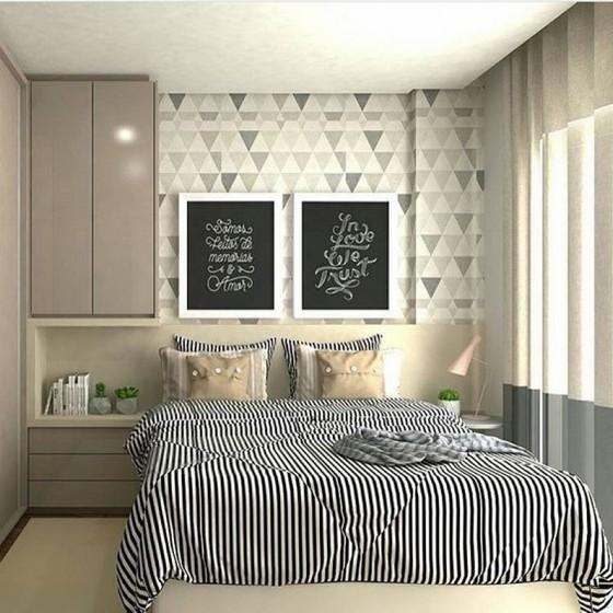Onde Encontro Quarto Planejado Apartamento Pequeno Mogi das Cruzes - Quarto Planejado com Closet