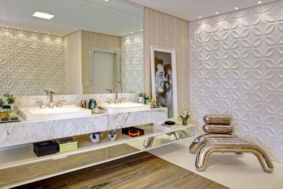 Quanto Custa Banheiro Planejado Grande Guarulhos - Banheiro Planejado com Espelho