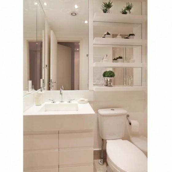 Quanto Custa Banheiro Planejado para Espaço Pequeno Mogi das Cruzes - Banheiro Planejado com Espelho