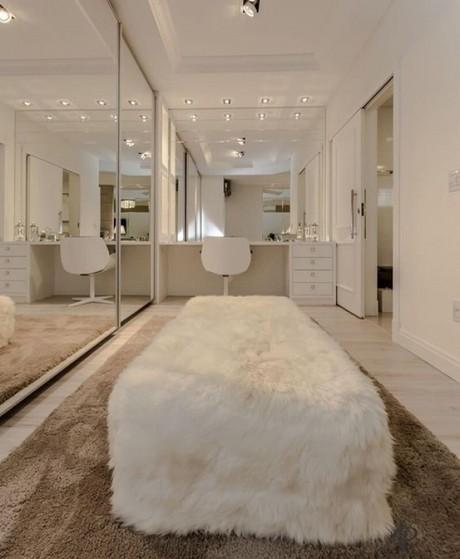 Quanto Custa Closet Planejado com Espelho Arujá - Closet Planejado Aberto