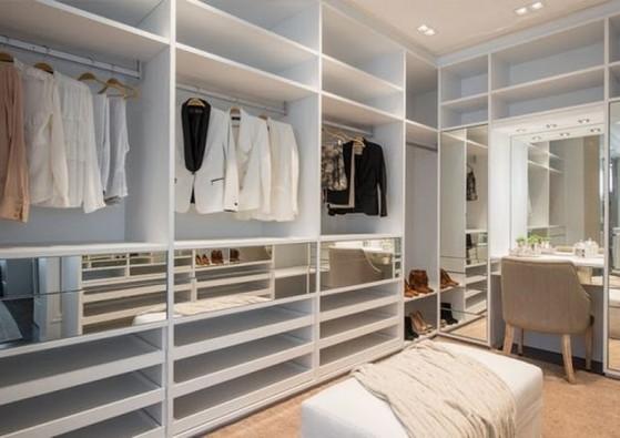 Quanto Custa Closet Planejado de Móveis Zona Leste - Closet Planejado Pequeno Simples