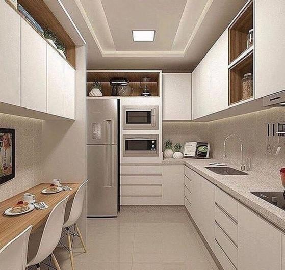 Quanto Custa Cozinha Planejada de Apartamento Zona Leste - Cozinha Planejada Amadeirada