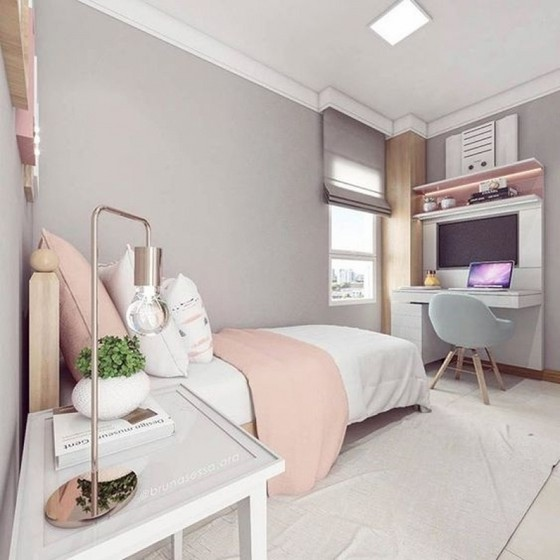 Quanto Custa Dormitório Planejado Solteiro Feminino Poá - Dormitório Planejado Solteiro Masculino