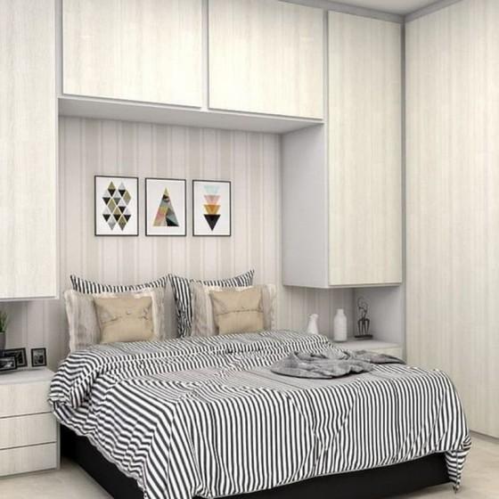Quanto Custa Quarto Planejado Apartamento Mogi das Cruzes - Quarto Planejado de Casal Pequeno
