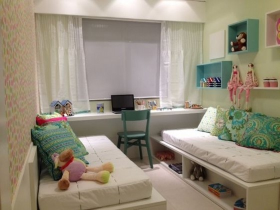 Quanto Custa Quarto Planejado com Duas Camas São Paulo - Quarto Planejado Apartamento Pequeno